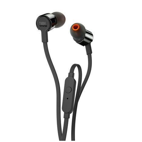JBL T210 Noir - Noir - Ecouteurs intra-auriculaires