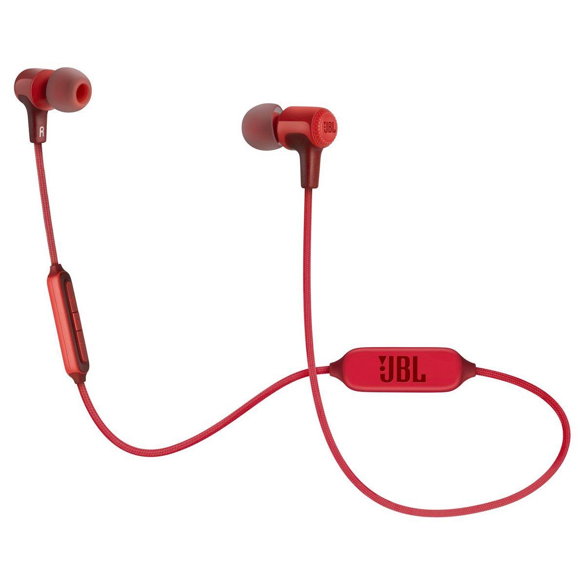 Ecouteurs Intra-auriculaires sans fil E25BT - Rouge