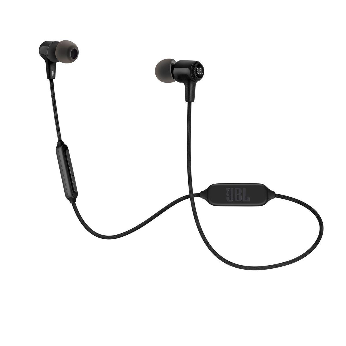 Écouteurs intra-auriculaires sans fil - Noir - E25BT