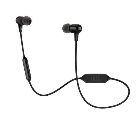 JBL Écouteurs intra-auriculaires sans fil - Noir - E25BT