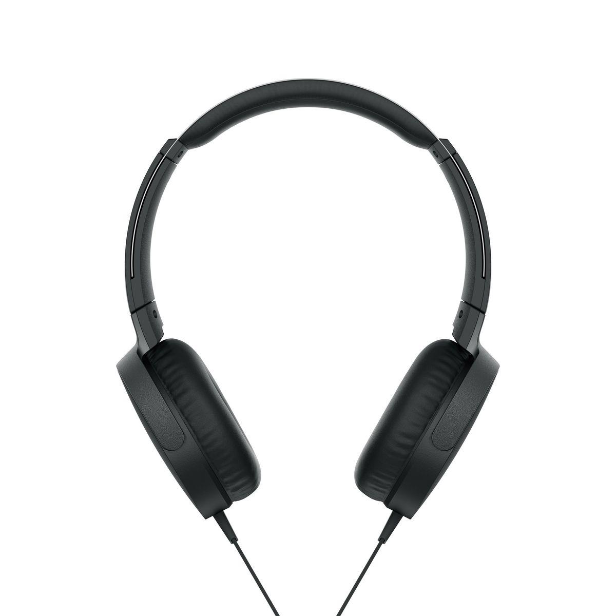 Casque audio filaire - Noir - MDR-XB550AP Extra Bass