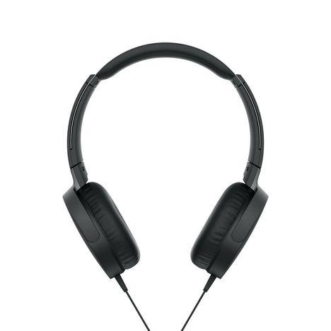 SONY Casque audio filaire - Noir - MDR-XB550AP Extra Bass