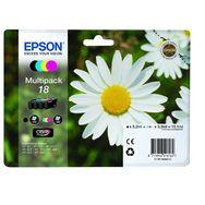 EPSON Cartouche 18 - Pack 4 couleurs