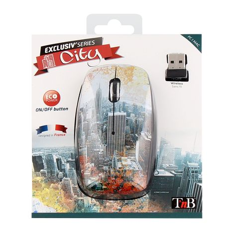 TNB Souris sans fil MWXCITY design CITY