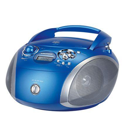 Grundig Radio Cd Bleu Rcd1445bl