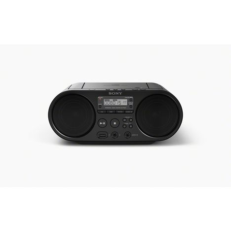 SONY Boombox ZS-PS50 - Noir - Lecteur Radio / CD / MP3 / USB