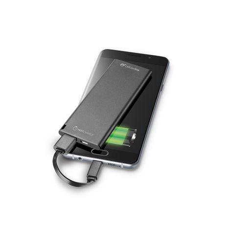 CELLULAR Batterie de secours 3000 mAh ultra slim noir