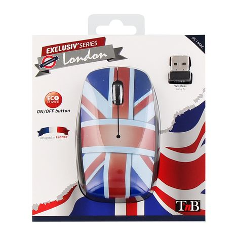 TNB Souris sans fil MWXUK3 Design UK