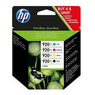 HP Cartouche 920XL Noir/Cyan/Magenta/Jaune