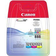CANON Cartouche CLI-521 CMY pack