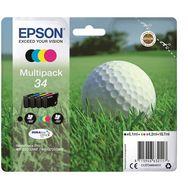 EPSON Multipack 4 cartouches d'encre DURABrite T3466