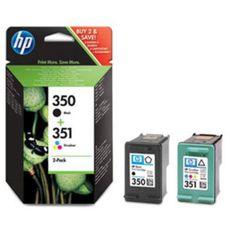 HP Cartouche Pack Noir / Tri-color 350/351