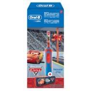 ORAL B Brosse à dents électrique Stages Power Cars D12.513 + trousse Disney cars