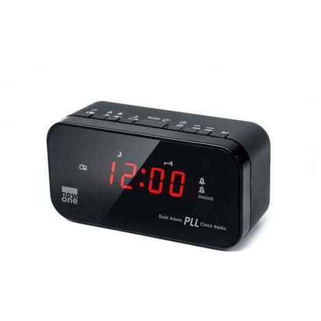 NEW.ONE CR120 - Noir - Radio réveil