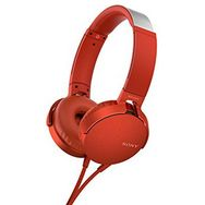 SONY MDR-XB550AP Extra Bass - Rouge - Casque Audio