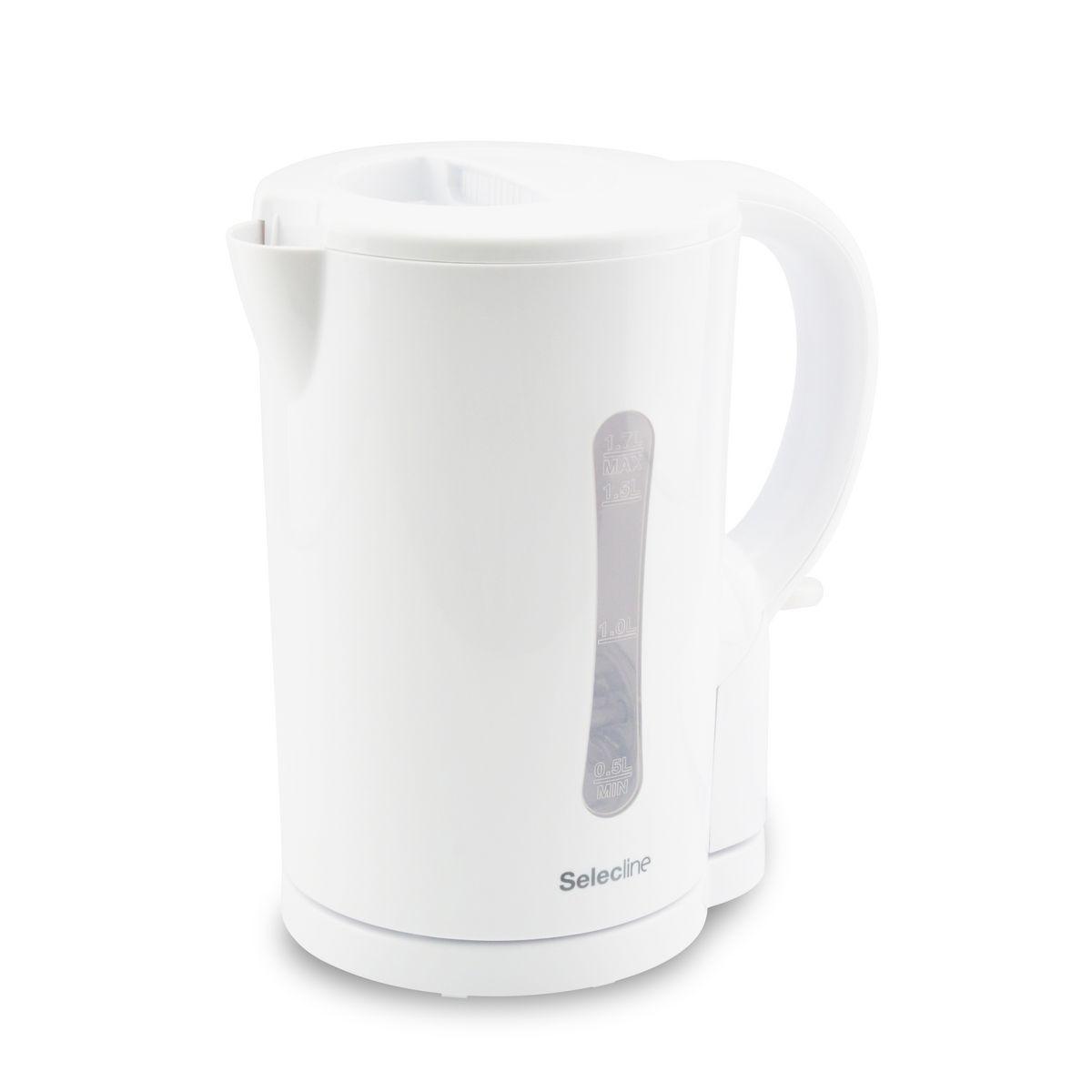 Bouilloire Electric Kettle KE01101C-GS blanche