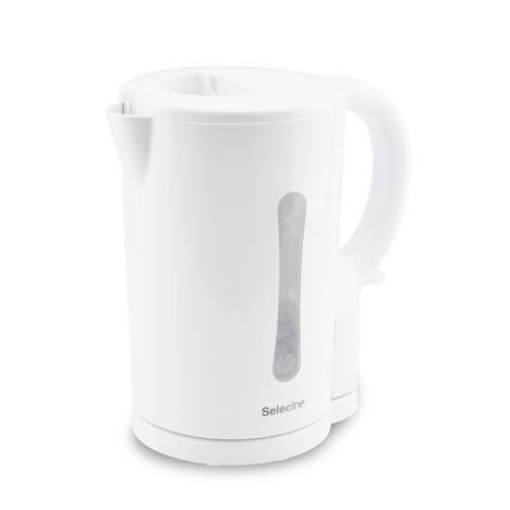 SELECLINE Bouilloire Electric Kettle KE01101C-GS blanche
