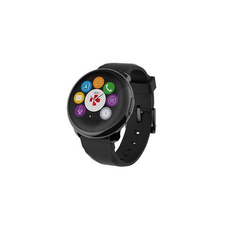 MYKRONOZ Montre connectée - ZeRound - Bluetooth - Noir