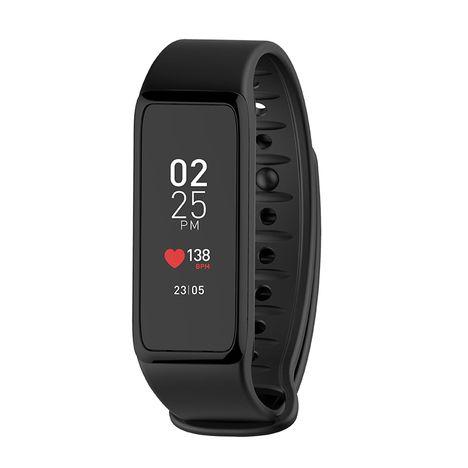 MYKRONOZ Bracelet connecté - ZeFit 3 HR - Bluetooth - Noir