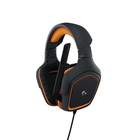 LOGITECH Casque filaire G231 Prodigy - Noir et orange