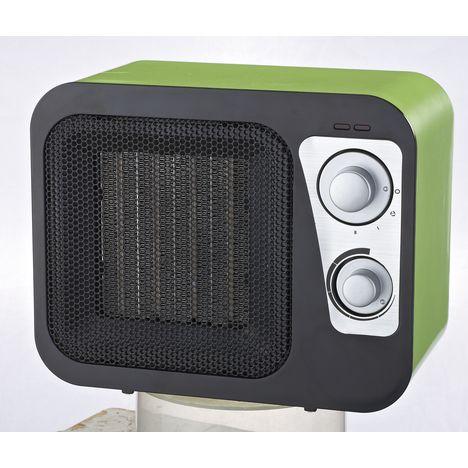 SELECLINE Chauffage céramique PTC906-L, Vert