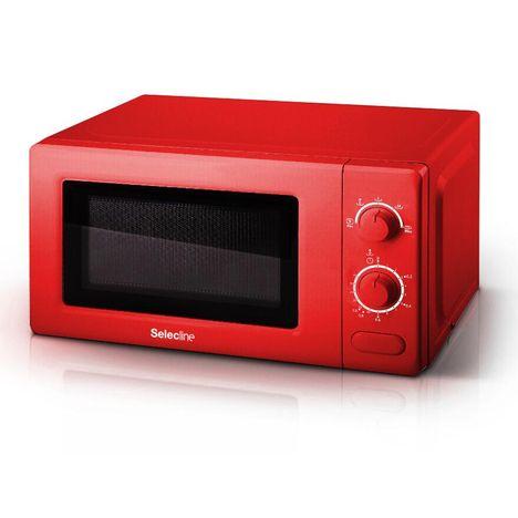 Micro Ondes Mm720cr6 Rouge Selecline Pas Cher A Prix Auchan