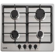 LIMIT Table de cuisson à gaz LIGKXG60X, 60 cm, 4 foyers gaz