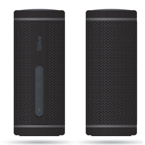 QILIVE Enceinte portable Bluetooth - Noir - Q.1293