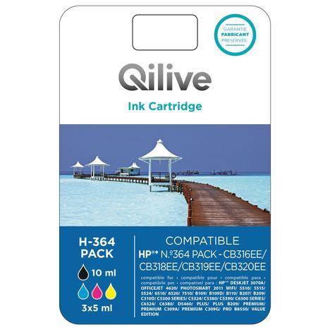 QILIVE Cartouche 4 Couleurs H-364 PACK