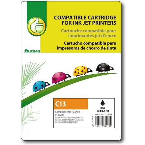 POUCE Cartouche GENERIQUE  CANON PGi520  -  C13