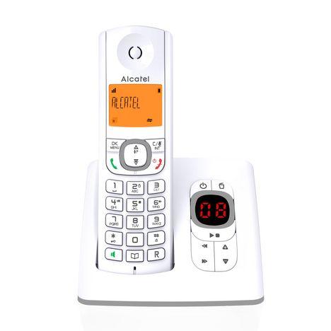 ALCATEL Téléphone Fixe - F530 VOICE  - Gris - Répondeur