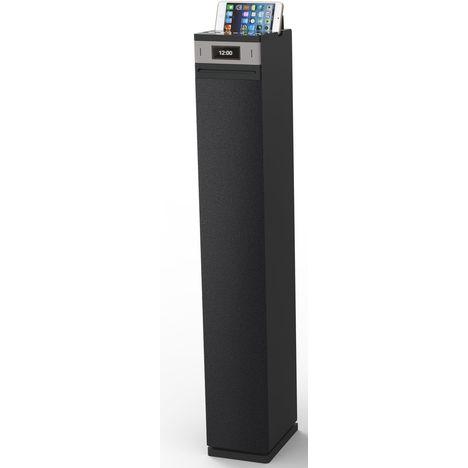 at 4103cd noir tour de son cd bluetooth audio tech pas cher prix auchan. Black Bedroom Furniture Sets. Home Design Ideas