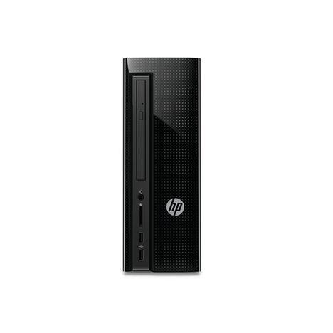 HP Unité centrale Slimline Desktop 260-a119nf - Noir