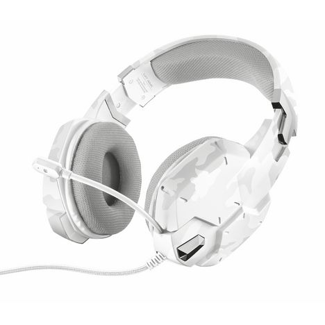 TRUST Casque gaming filaire GXT322 Blanc camouflage