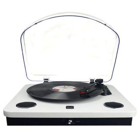 DUAL Platine vinyle - DL-P09W - Blanc laqué