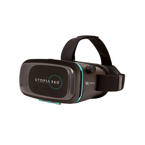 RETRAK Casque de réalité virtuelle - UTOPIA 360 - Noir