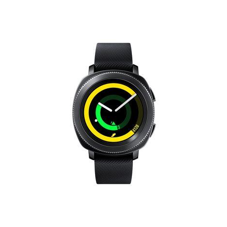 SAMSUNG Montre connectée - Gear sport - Bluetooth - Noir