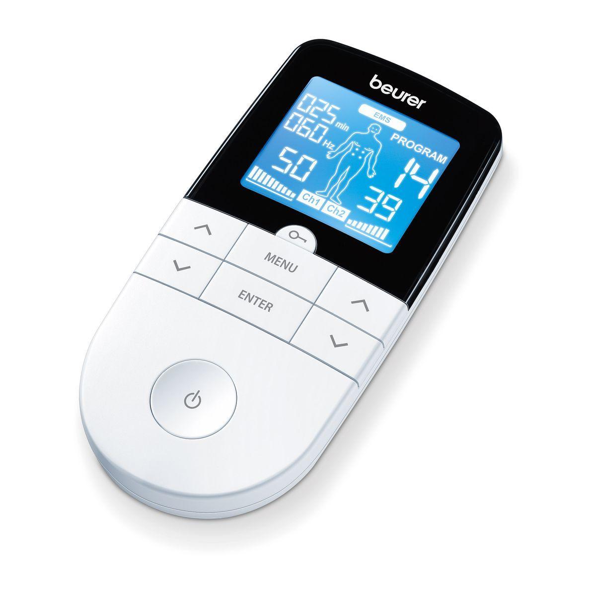 Electrostimulateur numérique EM 49, 3 en 1 : douleur, musculation et détente