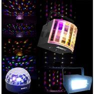 BOOST Pack de 3 effets de lumière à LED