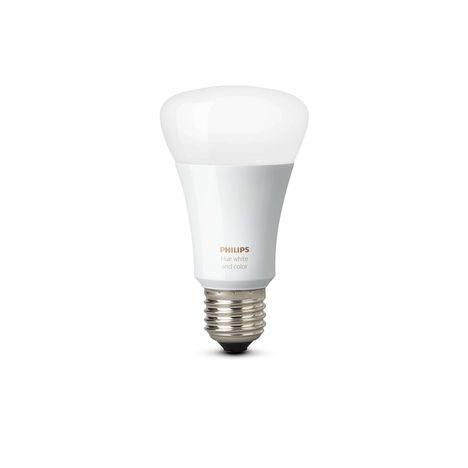 Ampoule Led Connectée : ampoule led connect e hue e27 philips pas cher prix auchan ~ Nature-et-papiers.com Idées de Décoration