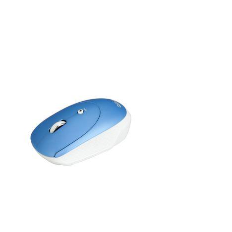 QILIVE Souris sans Fil Bluetooth Bleue
