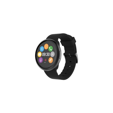 MYKRONOZ Montre connectée - ZeRound2 - Bluetooth - Noir