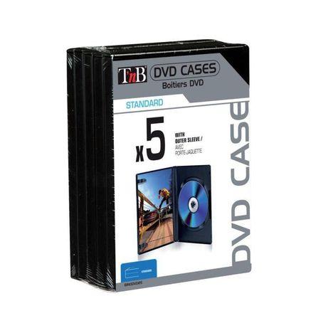 TNB Boitiers DVD x5