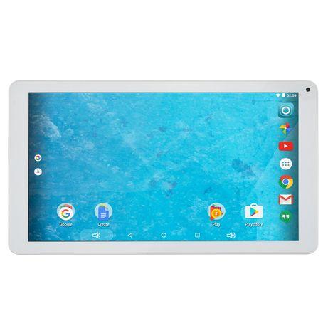 QILIVE Tablette tactile MW1628H 10.1 pouces Blanc 16 Go