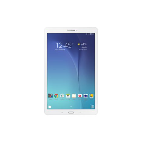 SAMSUNG Tablette tactile Galaxy Tab E blanc