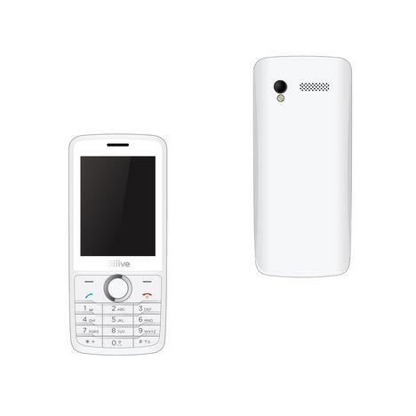 QILIVE Téléphone portable BIG SCREEN 888806 - Double SIM - Blanc