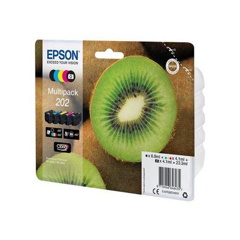 EPSON Pack de 5 cartouches d'encre Kiwi N202