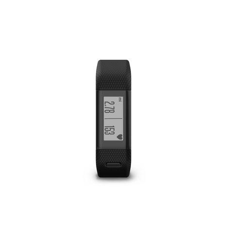 GARMIN Bracelet connecté - Vivosmart HR+ - Sport - GPS - Noir