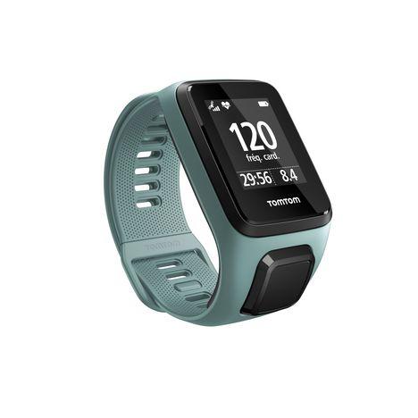 TOMTOM Montre connectée - Spark 3 Cardio - Vert eau - Taille Fin - Bluetooth