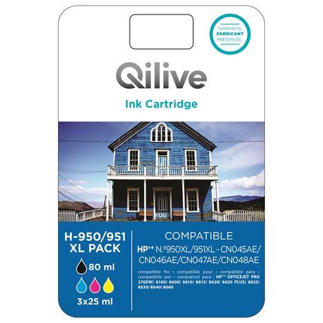 QILIVE Cartouche H-950/951 XL PACK